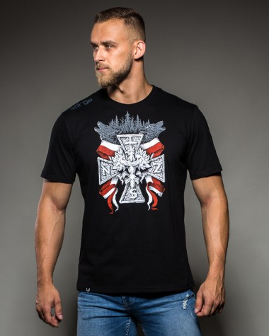 Koszulka T-shirt Surge Polonia Krzyż NSZ Wilki